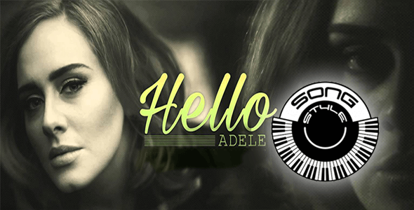 HELLO-ADELE KORG Pa-series Song Styles Sounds
